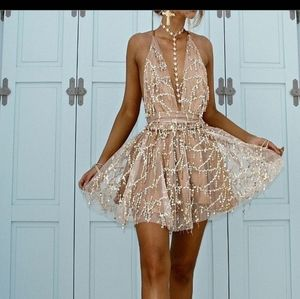 Dresses & Skirts - Sexy Flirty Sequined Mini